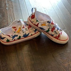 Dinosaur converse shoes for boys